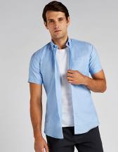 Slim Fit Workwear Oxford Shirt Short Sleeve
