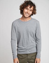 Men´s Long Sleeve Tri-Blend T-Shirt