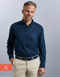 Men`s Long Sleeve Classic Twill Shirt