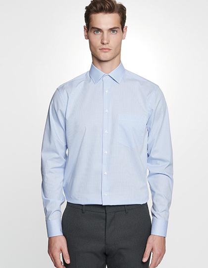 Men`s Shirt Regular Fit Check/Stripes Longsleeve